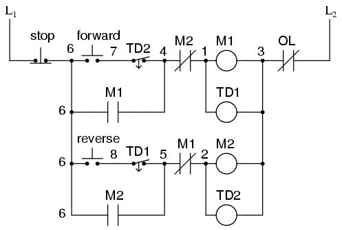 Fine Control Circuit For Forward And Reverse Motor Contemporary Forward And Reverse Ac-motor Circuit Single Phase Forward Reverse Control Circuit Forward Reverse Single Phase Motor Wiring Diagram